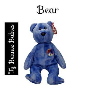 🔴 15/$25. Ty Beanie Babies ~ Bear